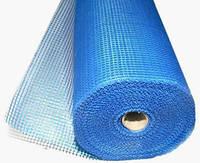 Сетка  фасадная щелочеустойчивая, синяя  160 гр/м2