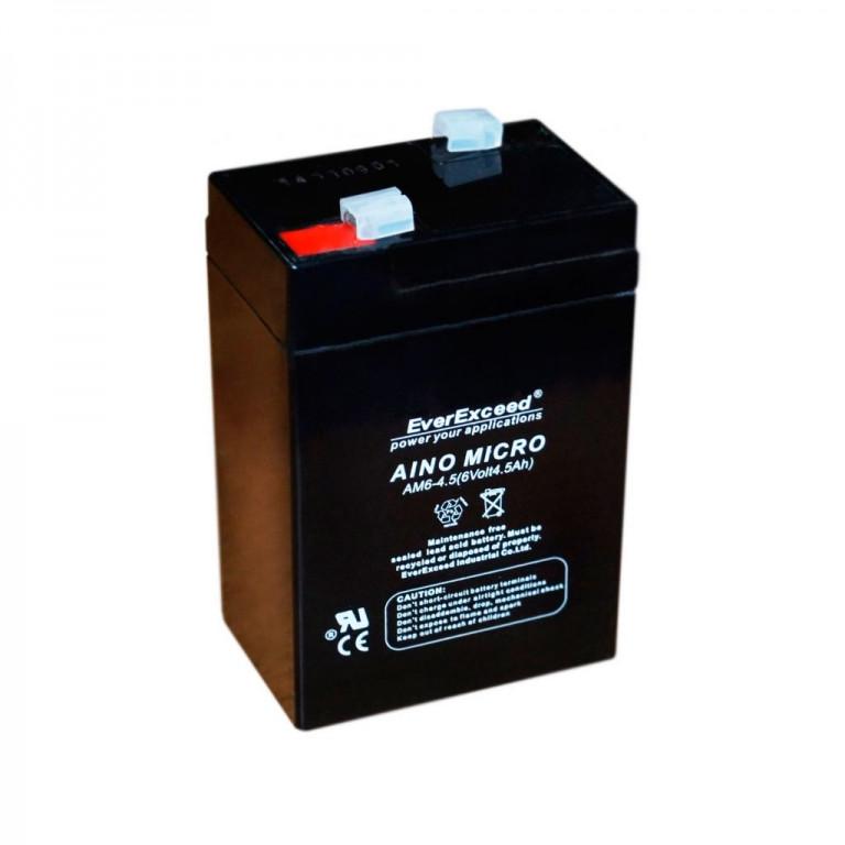 Аккумулятор AGM EverExceed AM 6-4,5
