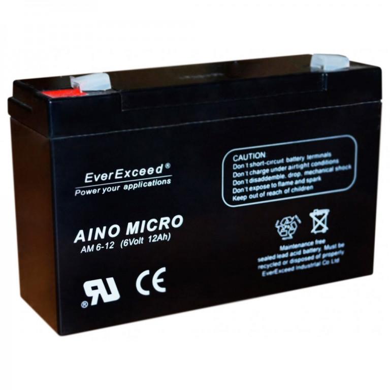 Аккумулятор AGM EverExceed AM 6-12