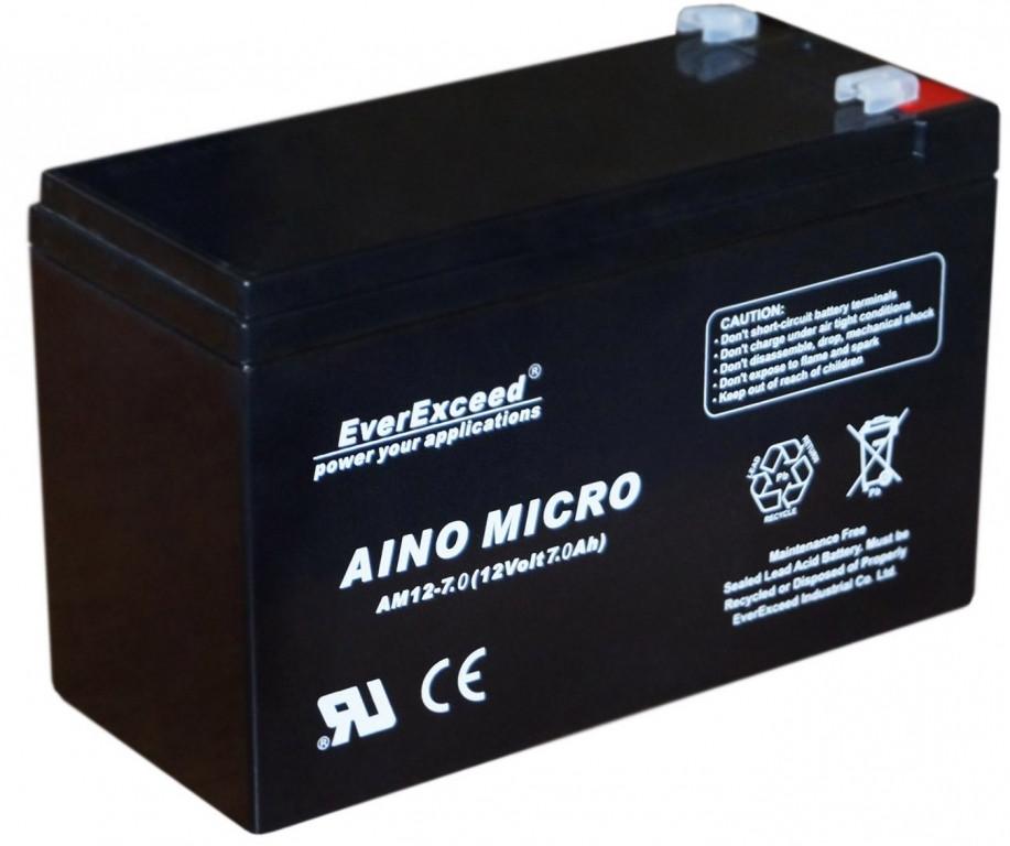 Аккумулятор AGM EverExceed AM 12-7
