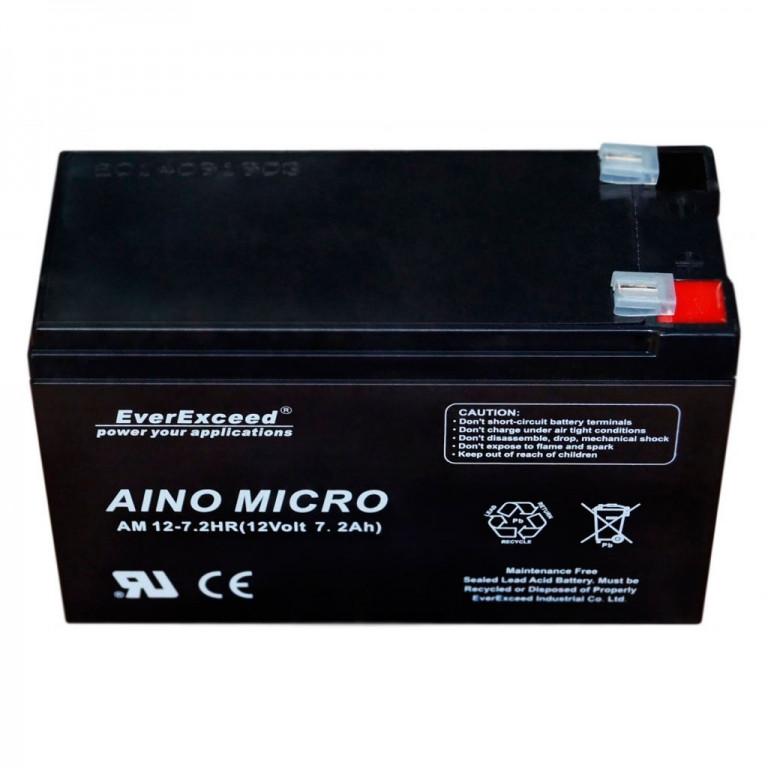 Аккумулятор AGM EverExceed AM 12-7.2