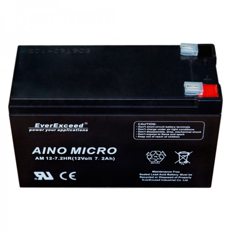 Аккумулятор AGM EverExceed AM 12-7.2hr