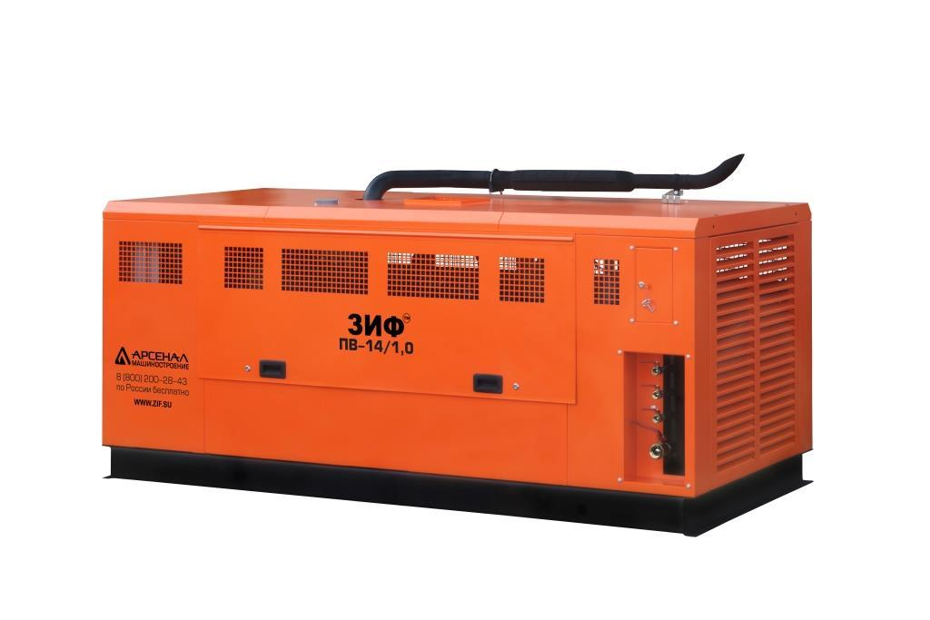 ЗИФ Станция компрессорная передвижная дизельная ЗИФ-ПВ-30/0,7 на раме