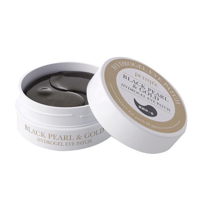 Petitfee гидрогелевые патчи для кожи вокруг глаз с черным жемчугом Black Pearl  Gold Hydrogel Eye Patch
