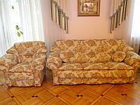 Перетяжка диванов и кресел Днепр. Перетяжка мебельных гарнитур. Мягкая мебель на заказ., фото 1