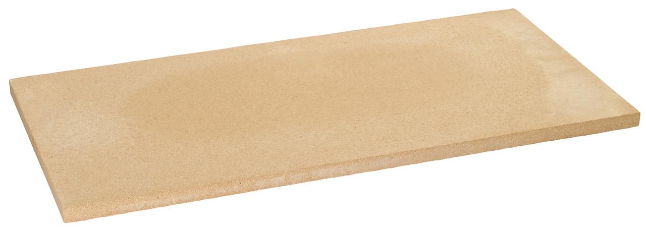 Плита шамотная 610x305x17 мм для пицца печи (пр-во Италия)