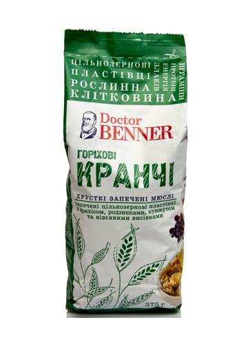 "Кранчи ""Ореховые"" 375г ""Dr.Benner"""