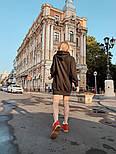 """Женское худи/толстовка """"кенгуру"""" с карманами удлиненная (в расцветках), фото 8"""