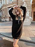 """Женское худи/толстовка """"кенгуру"""" с карманами удлиненная (в расцветках), фото 10"""