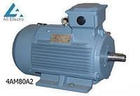 Электродвигатель 4АМ80А2 1,5 кВт 3000 об/мин, 380/660В