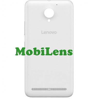 Lenovo C2, K10a40 Задняя крышка белая, фото 2