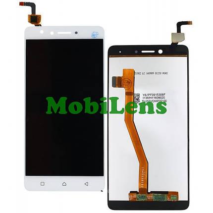 Lenovo K6 Note, K53a48 Дисплей+тачскрин(модуль) белый, фото 2