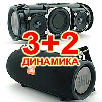 💥💥💥 - 3+2 динамика!  JBL XTREME SuperBass 40W, Bluetooth колонка с  MP3, черная. | AG320096