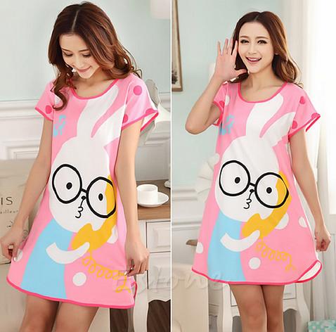 Домашнее платье с принтом ANNA  (48 размер ) , фото 2