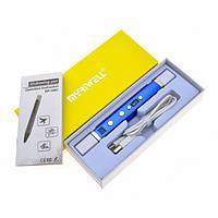 3Д Ручка MyRiwell 4 Pro RP100C C LCD дисплеем - USB разъем, внешний аккумулятор, 4 скорости