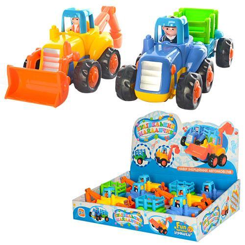 """Машинка игрушечная """"Стройтехника"""" Hola 326 АВ"""