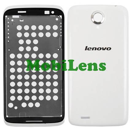 Lenovo S820 Корпус белый, фото 2