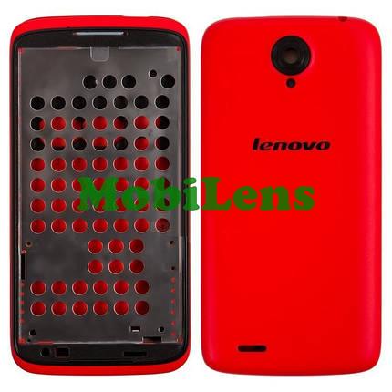 Lenovo S820 Корпус красный, фото 2