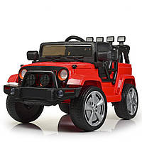 Детский электромобиль Джип «Jeep Wrangler» M 4148EBLR-3 Красный