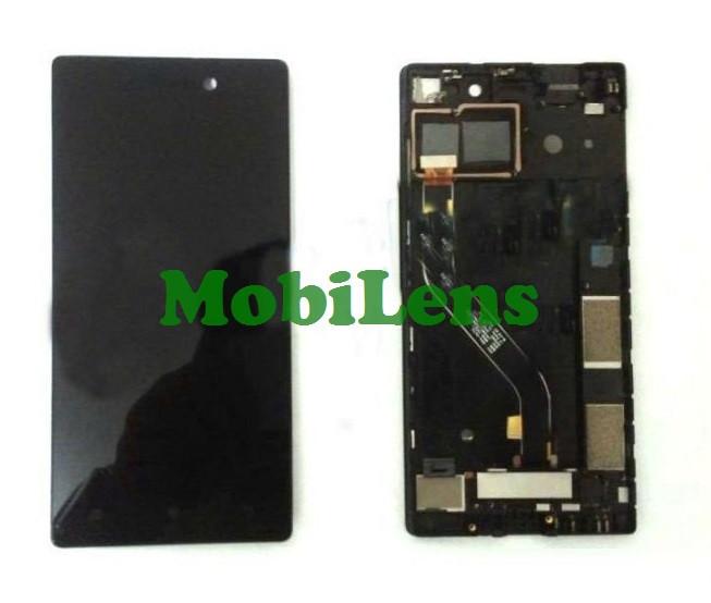Lenovo Vibe X2 Pro, (5.3 дюймов), X2PA3, X2PT5 Дисплей+тачскрин(модуль) черный *в рамке