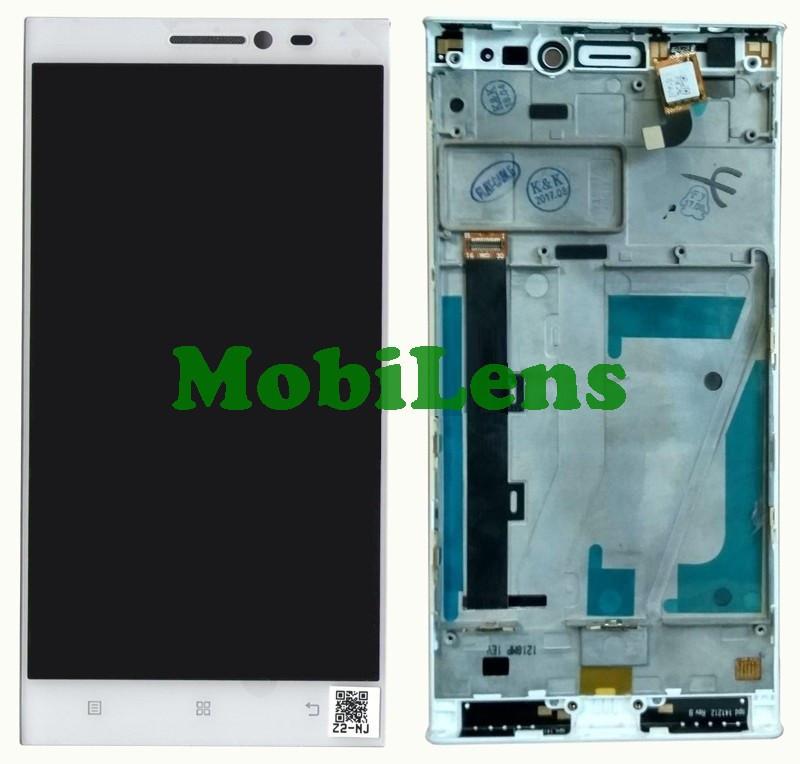 Lenovo Vibe Z2, (5.5 дюймов, расширение 1280x720) Дисплей+тачскрин(модуль) белый в рамке