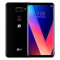 "Смартфон LG V30+ 4/128GB One Sim Black + стекло, Snapdragon 835, 16+13/5 Мп, экран 6.0"" P-OLED, (V30 Plus)"