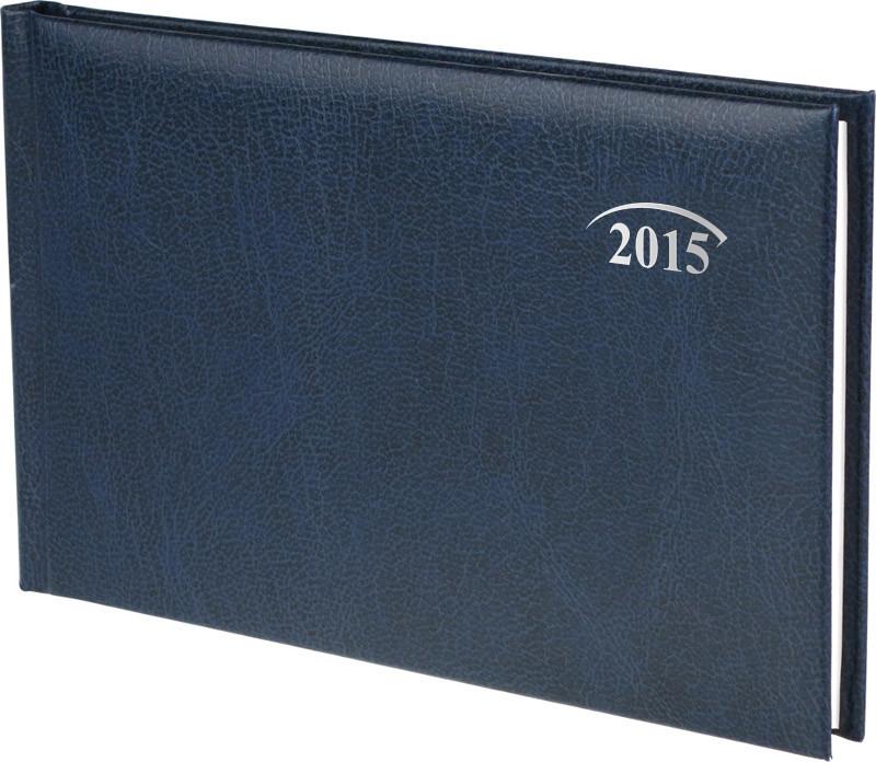Еженедельник карманный синий Miradur 2015 15,3 х 8,7 см 73-755