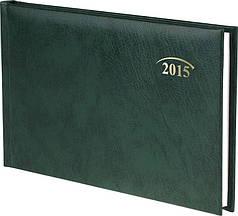 Еженедельник карманный зеленый Miradur 2015 15,3 х 8,7 см 73-755