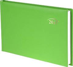 Еженедельник карманный ярко-зеленый Miradur 2015 15,3 х 8,7 см 73-755