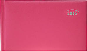 Еженедельник карманный лиловый Miradur 2015 15,3 х 8,7 см 73-755, фото 2