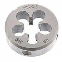 Плашка М16 х 1,5 мм СибрТех (77042)
