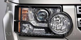 Land Rover Discovery 4 захист передніх фар комплект новий оригінал