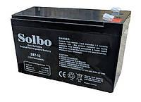 Аккумулятор Solbo 12В 7 Ач DB7-12
