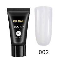 Poly gel OU.Nail 30 мл арт. 02