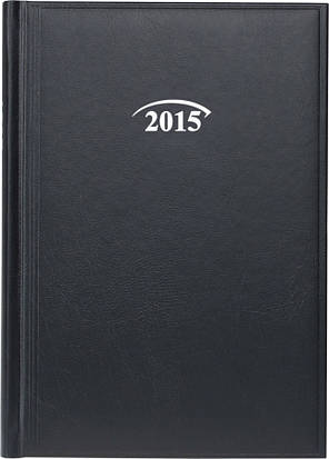 Ежедневник Стандарт Miradur 2015 черный 14,5 х 20,6 см (А5) 73-795, фото 2