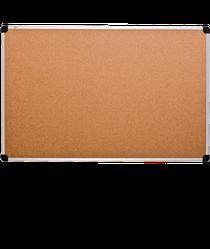 Доска пробковая, алюминиевая рамка, 45х60