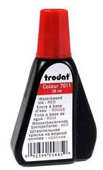 Краска штемп Trodat 28мл красная(Мин. заказ штемпельной продукции — 800грн)