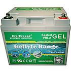 Аккумулятор GEL EverExceed GL-1220, фото 2