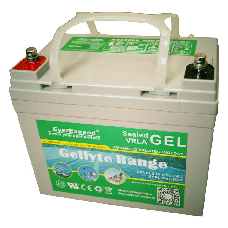 Аккумулятор GEL EverExceed GL-1235
