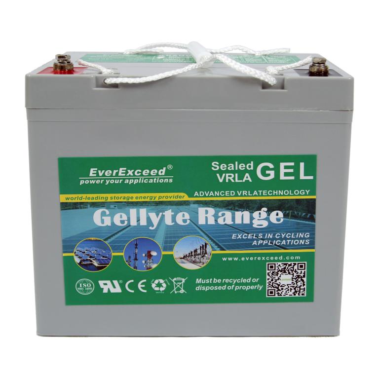Аккумулятор GEL EverExceed GL-1260