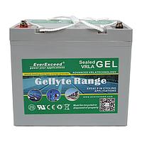 Аккумулятор GEL EverExceed GL-1280, фото 1