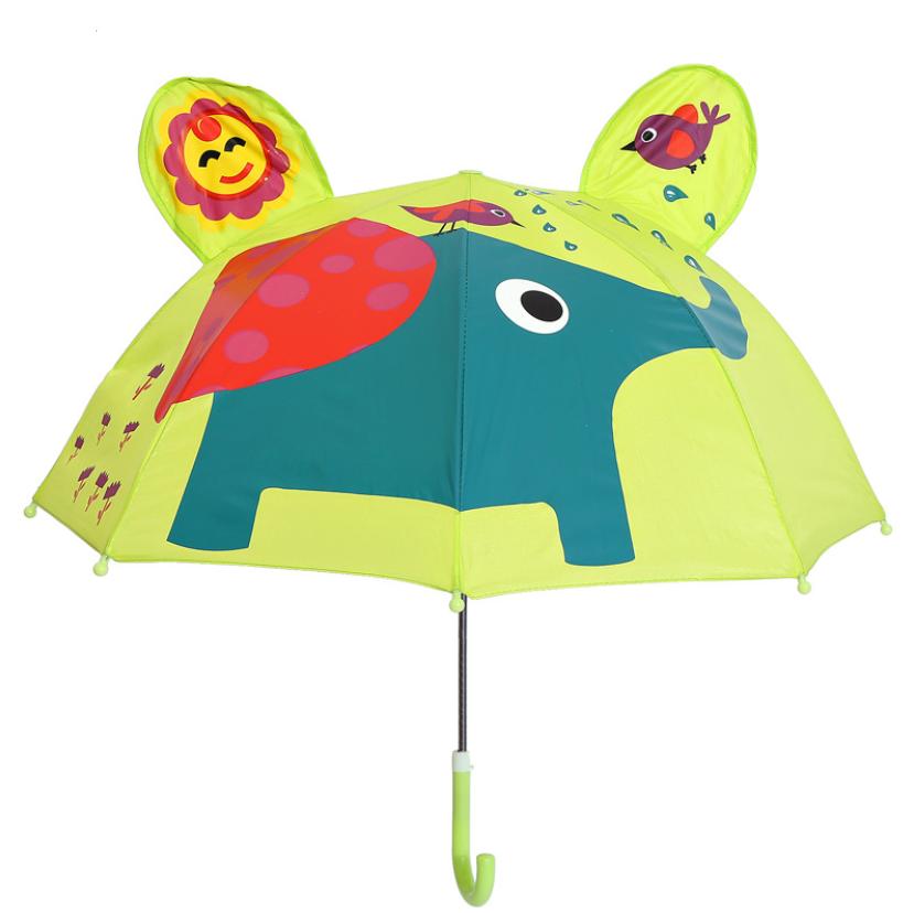 """Детский зонтик 3D ушки """"Слон"""""""