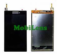 Lenovo A7-10, Tab 2, A7-20F Дисплей+тачскрин(модуль) черный