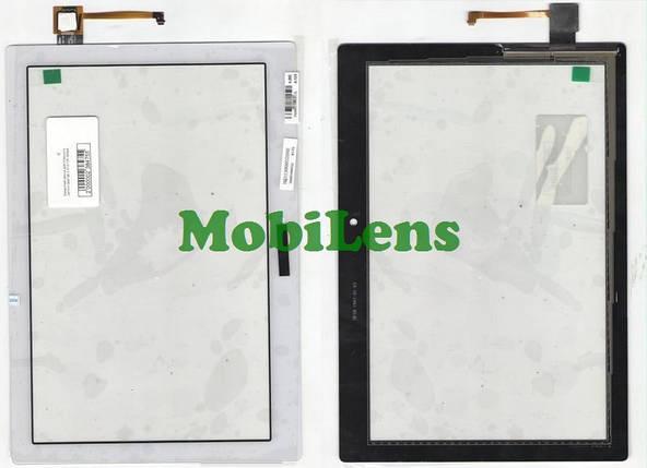 Lenovo A10-70F, Tab 2, A10-70L Тачскрин (сенсор) белый, фото 2