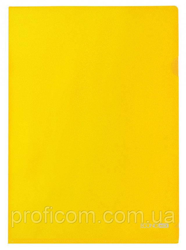 "Папка-кутик A4 ""Economix"" (жовта)"