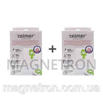 """Комплект мешков """"SAFBAG"""" (8шт) + фильтры ZVCA200B (2шт) для пылесоса Zelmer"""
