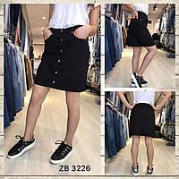 """Юбка женская джинсовая на пуговицах, размеры 34-40 """"Jeans Style"""" купить недорого от прямого поставщика"""