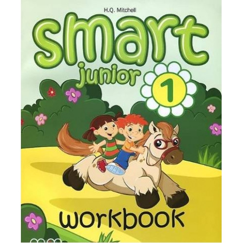 Робочий зошит Англійська мова 1 клас Smart Junior 1 Workbook (+CD) Mitchell H. Q