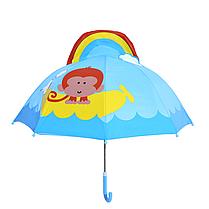 """Детский зонтик 3D ушки """"  Обезьяна"""""""