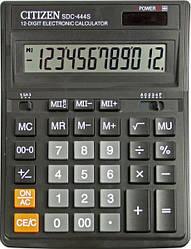 Калькулятор Citizen 12разр SDC-444S наст